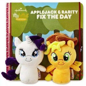 Hallmark My Little Pony Applejack, Rarity Book Set